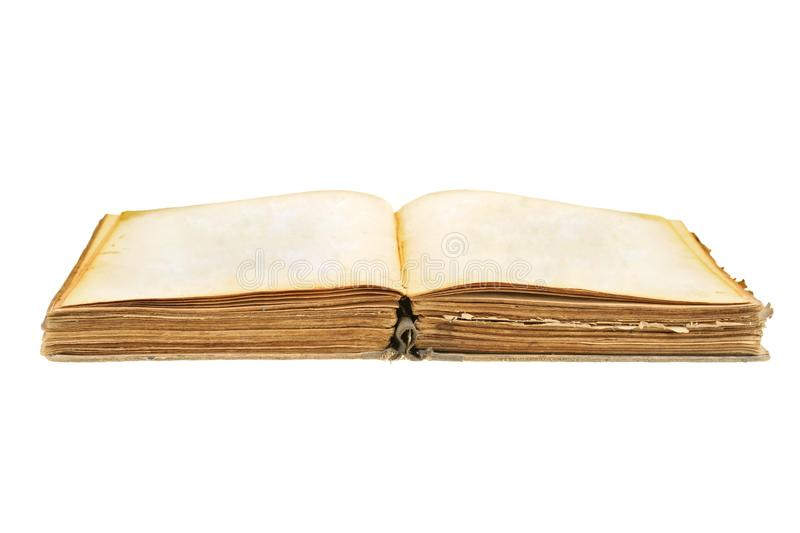 Open old book stock images
