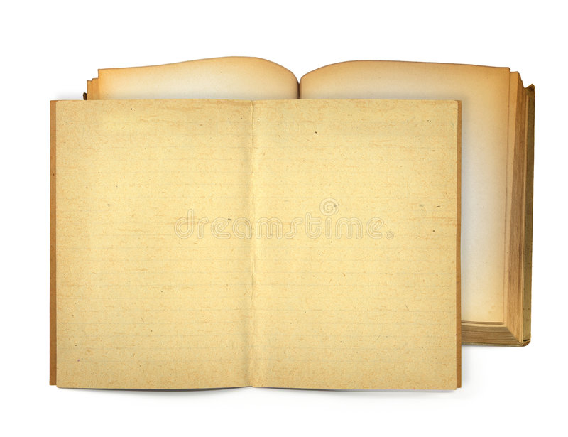 Download Open old books stock image. Image of golden, note, open - 6789413