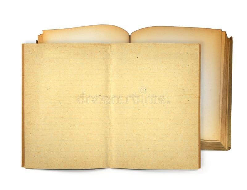Open oude boeken stock foto's
