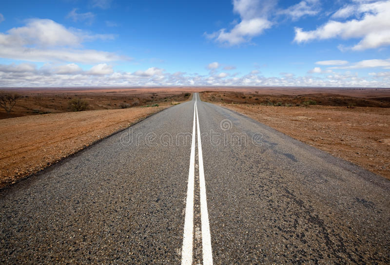 Open Outback Road Stock Images