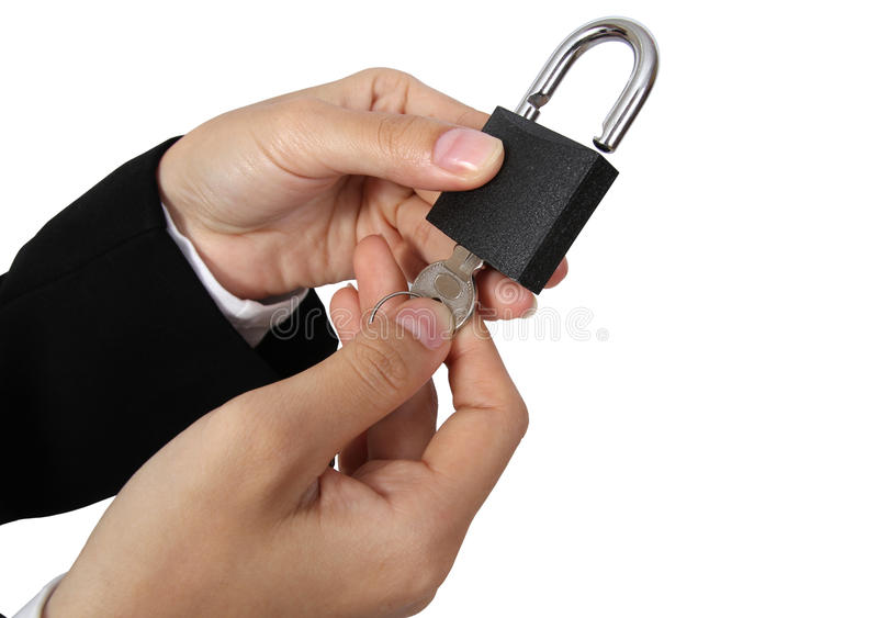 Download Open padlock stock image. Image of safe, background, isolated - 21102527