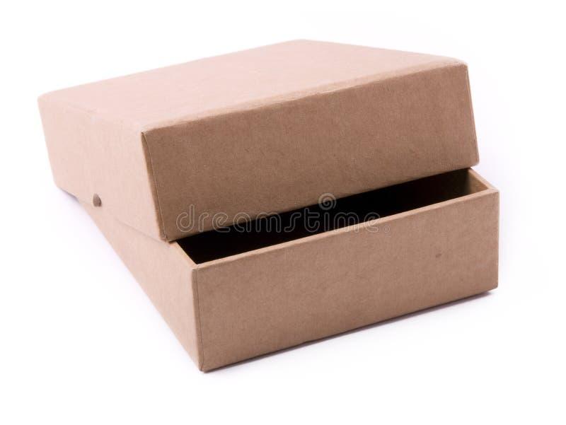 Open paper box stock photos
