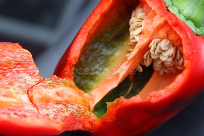Open pepper stock photos