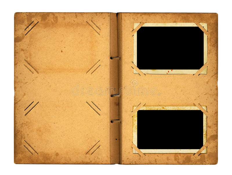 Download Open Photoalbum With Ribbon For Photos Stock Image - Image of empty, cardboard: 39504393