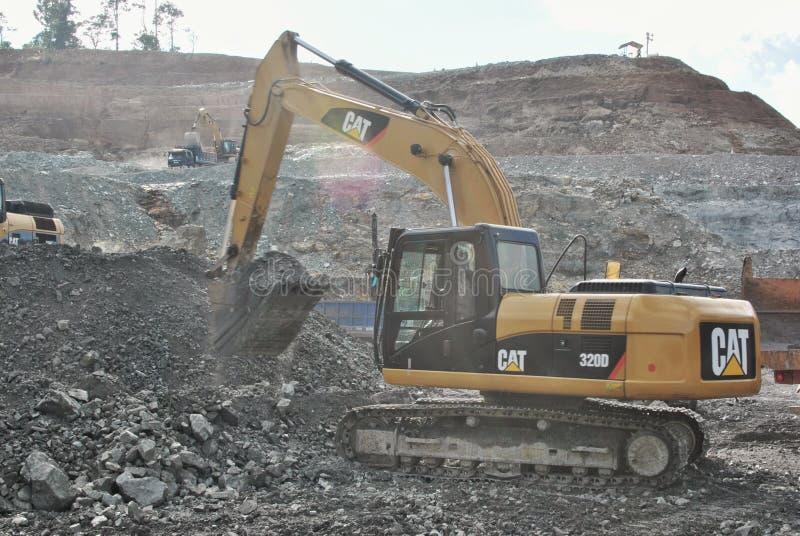 Open Pit Mining stock foto's