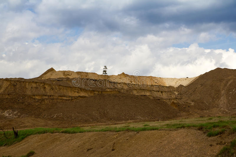 Download Open pit quarry stock image. Image of damage, hill, site - 25003413