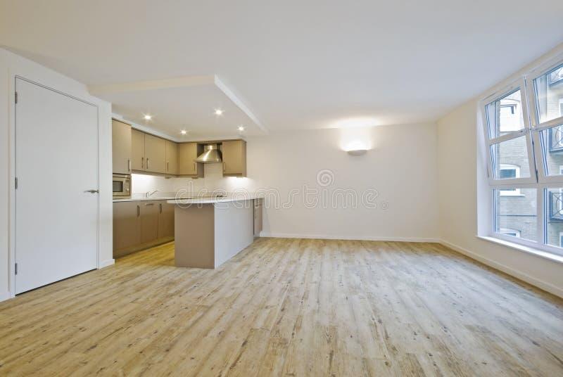 Open Plan Living Room Stock Image