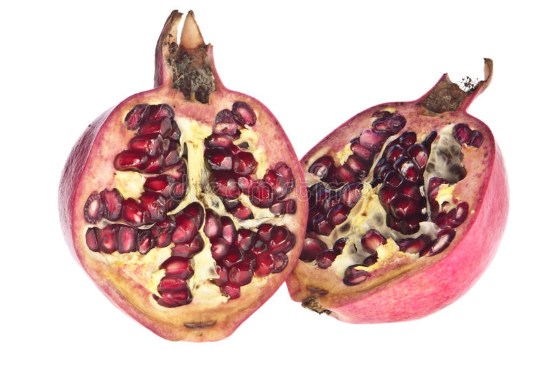 Download Open pomegranate stock image. Image of exotic, half, macro - 21322139
