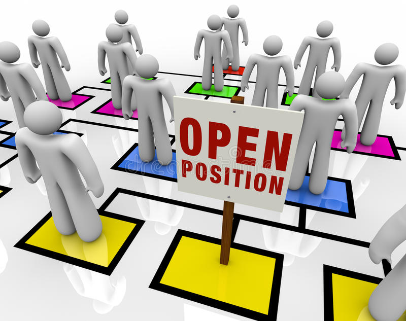 Download Open Position In Organizational Chart Stock Illustration - Image: 15706023