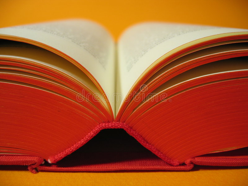 Download Open Red Book Royalty Free Stock Image - Image: 14116