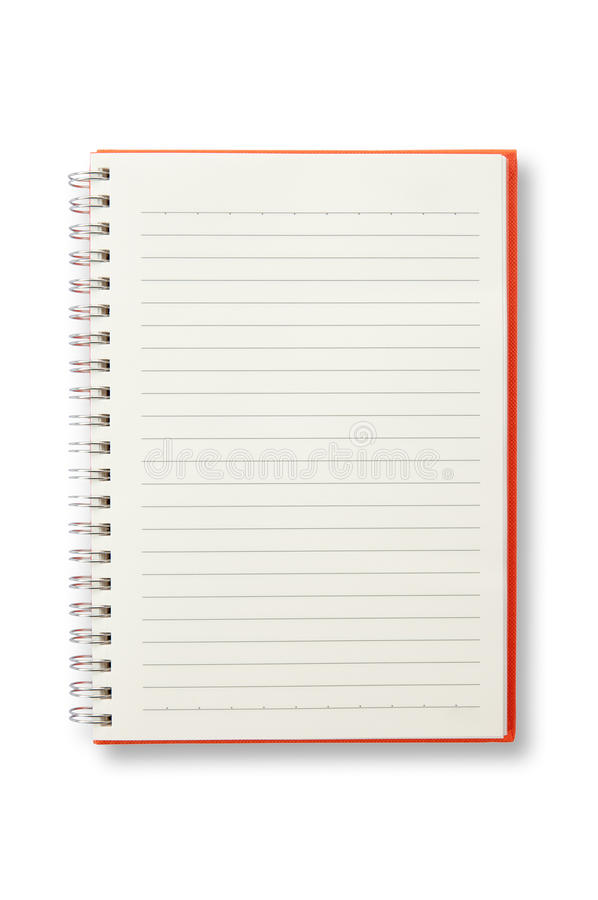 Free Open Red Notebook Royalty Free Stock Image - 31851546