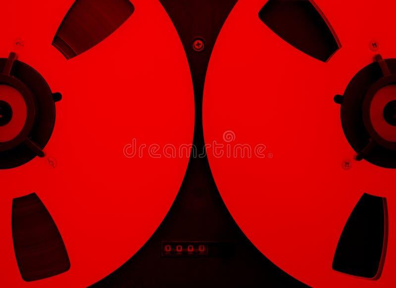 Download Open Reel Audio Recorder stock illustration. Image of meters - 25461385