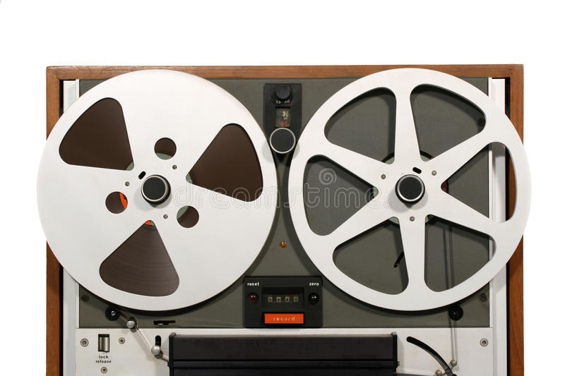 Open Reel Tape Deck Close stock images