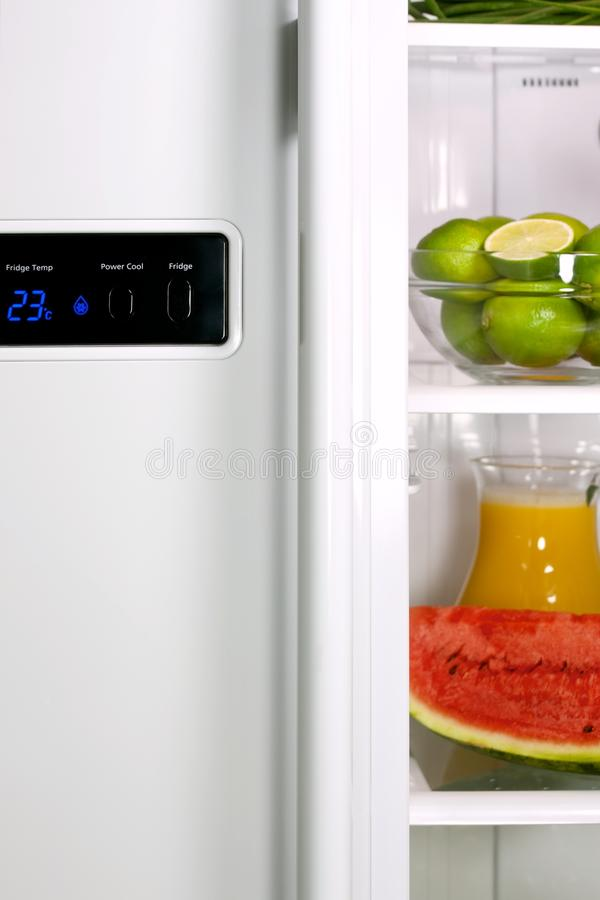 Download Open Refrigerator Royalty Free Stock Images - Image: 18056179