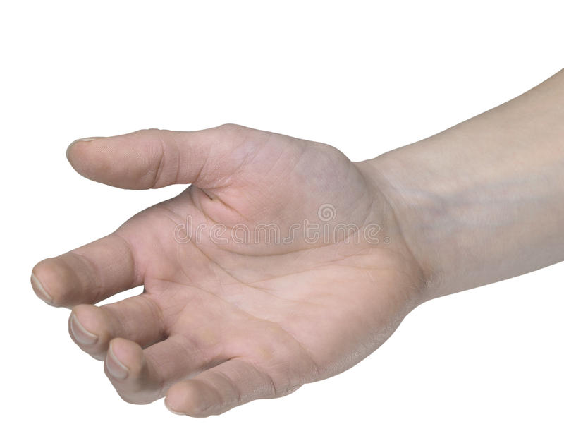 Open Right Hand Stock Images - Image: 35065944