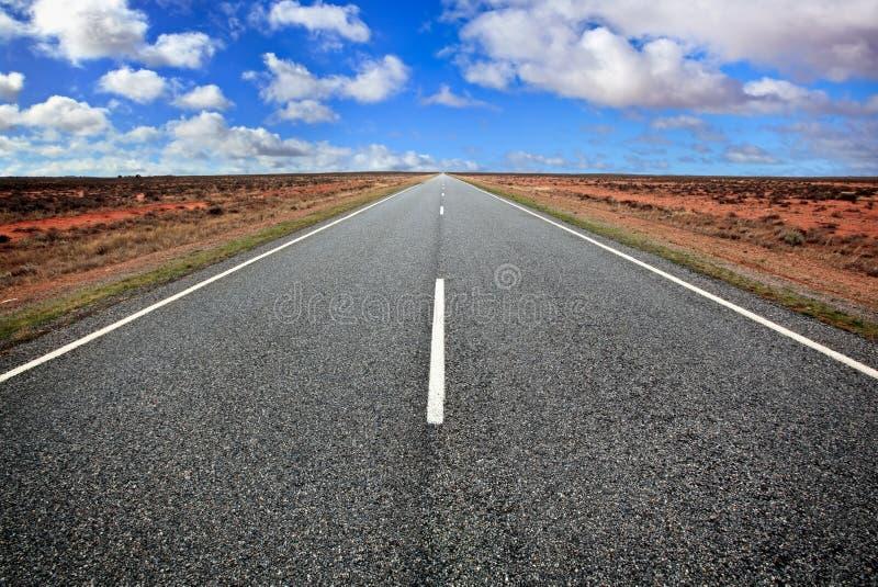 Download Open Road stock image. Image of centre, horizon, australian - 10346399