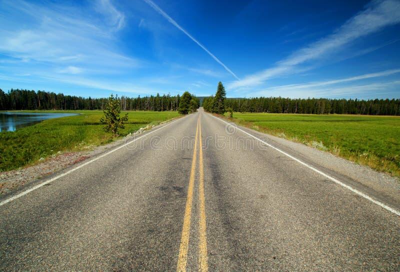 Open Road stock image