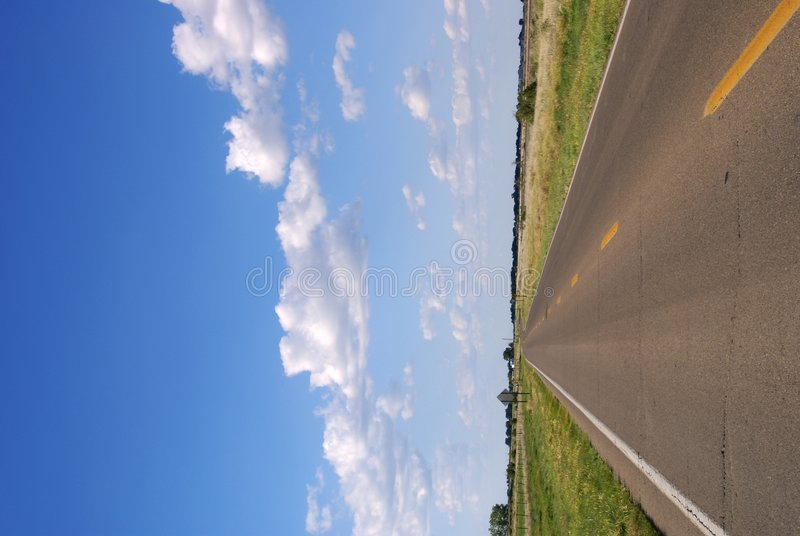 Free Open Road Royalty Free Stock Image - 4062176