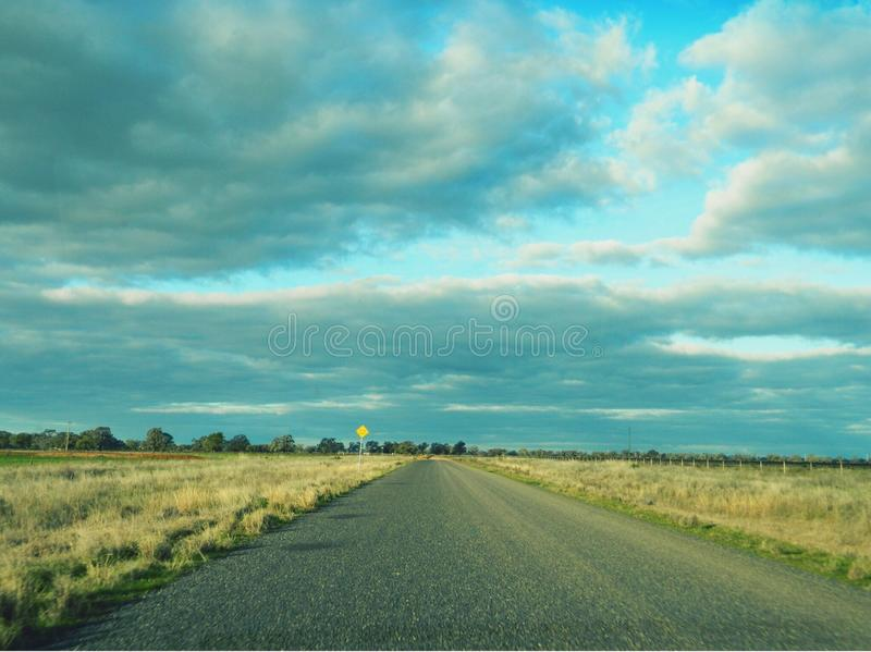 Open Road of Possibilities stock photos