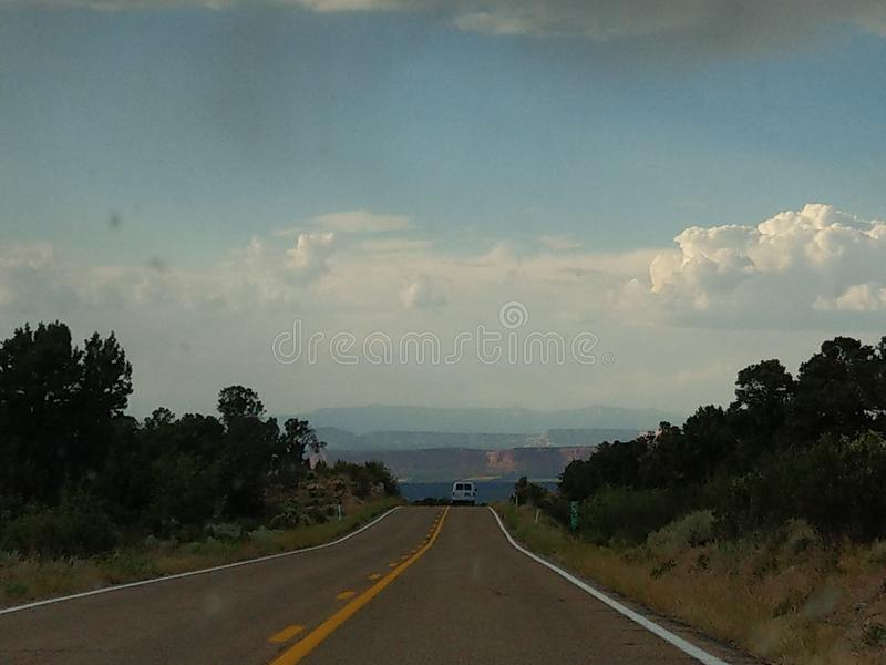 Open Road 3 royalty free stock photography
