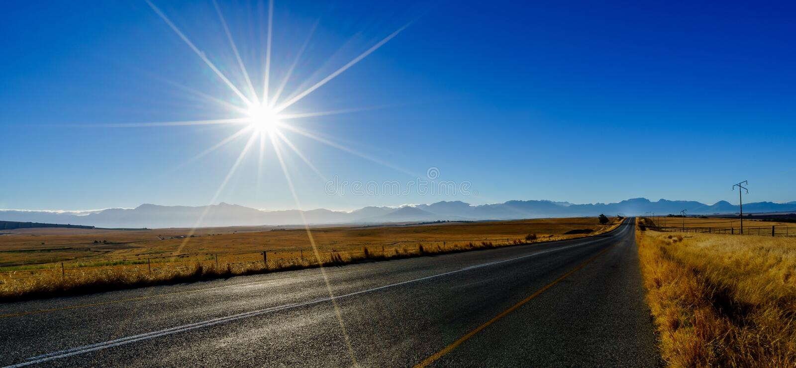 Open road stock images