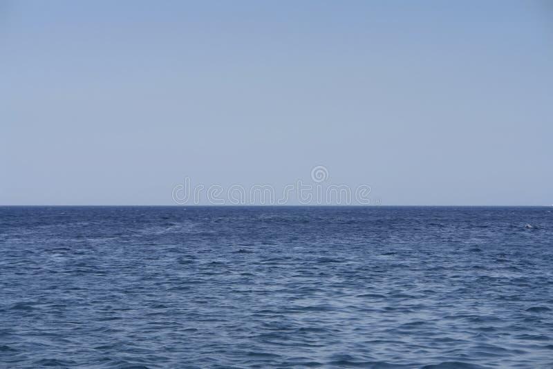 Open Sea Scene. From Aegean Sea royalty free stock photos
