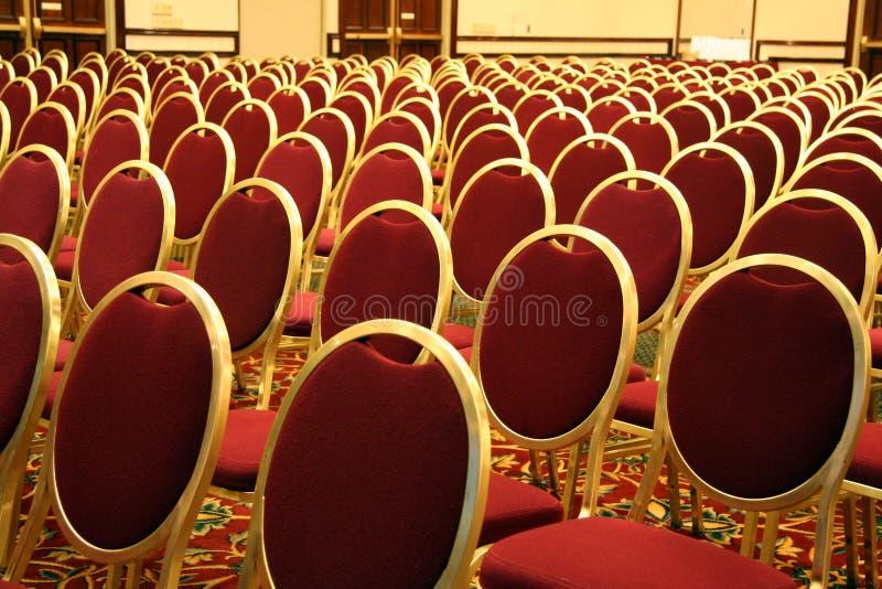 Open Seating at an Auditorium royalty free stock photos