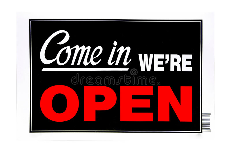 Download Open Sign stock photo. Image of open, sign, bulletin, shop - 83308