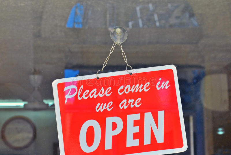 Download Open Sign Stock Photo - Image: 41293172