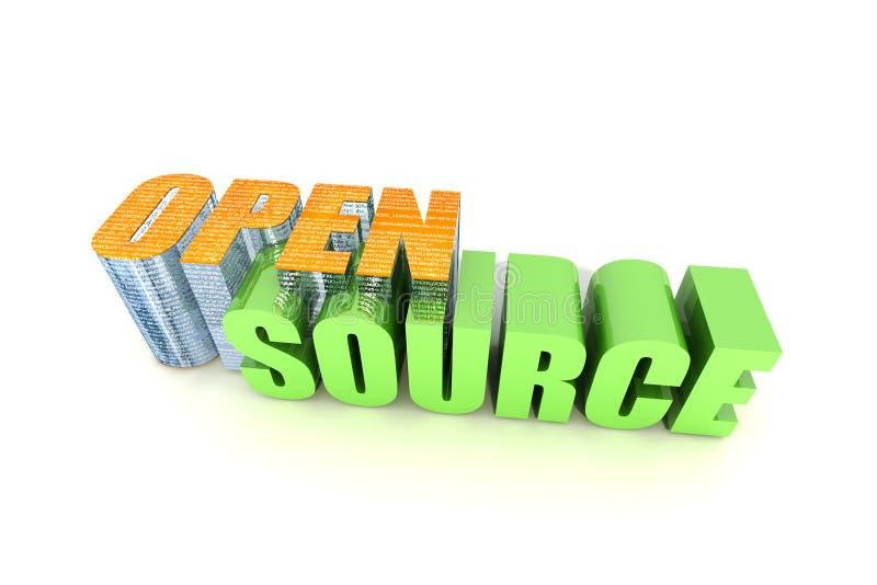 Open Source stock illustratie
