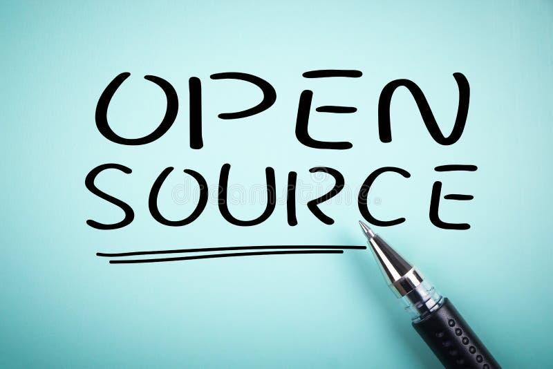 Open Source fotografering för bildbyråer