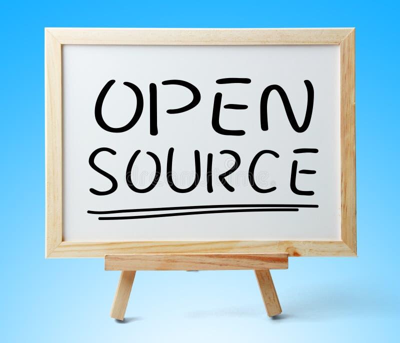 Open Source arkivbild