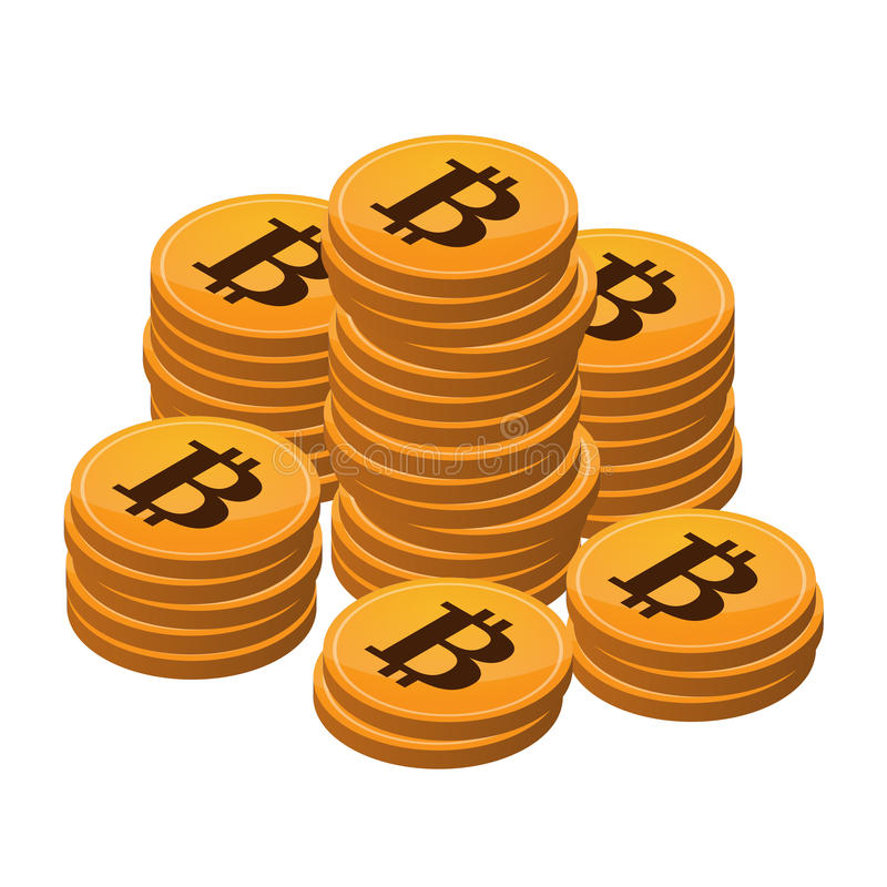 Download Open-source money Bitcoin stock illustration. Image of financial - 33435723