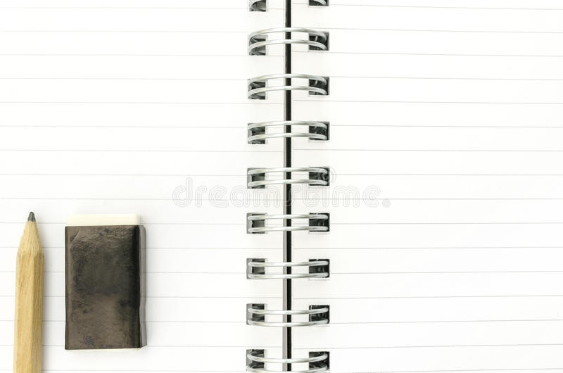 Download Open spiral notebook stock photo. Image of paper, logo - 32246878