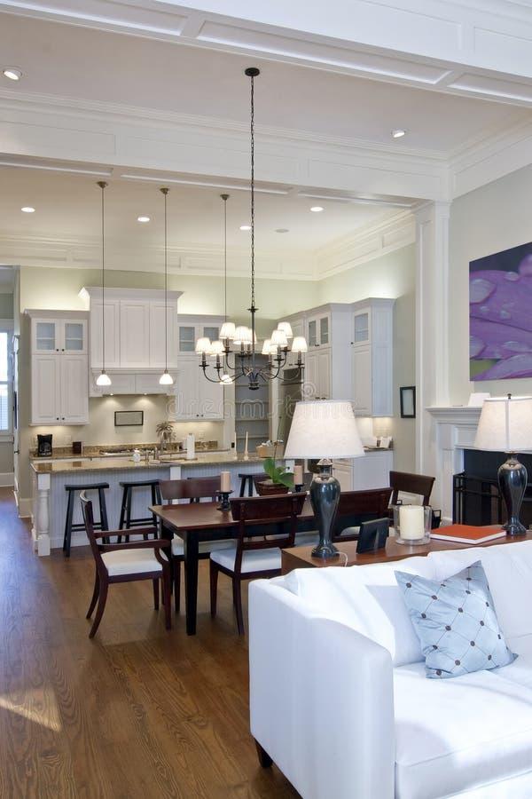 Download Open studio apartment stock image. Image of interior, mantle - 7756237