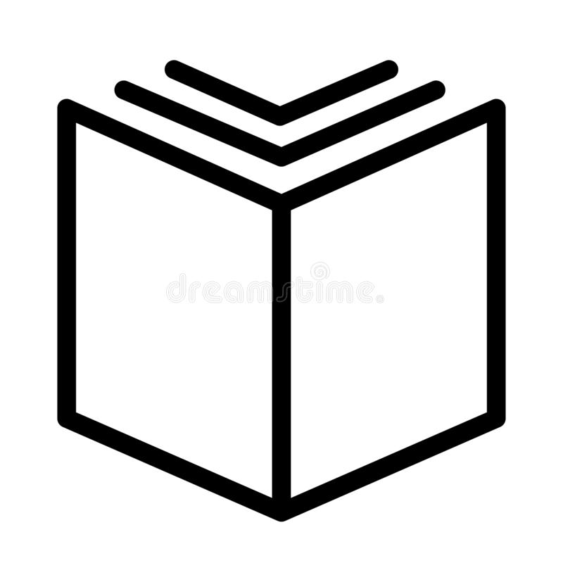 Free Open Textbook Content.book Icon Template, Vector Logo Stock Photography - 164210212