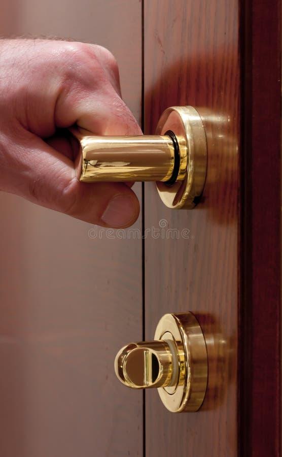 Free Open The Door. Stock Photo - 18384000
