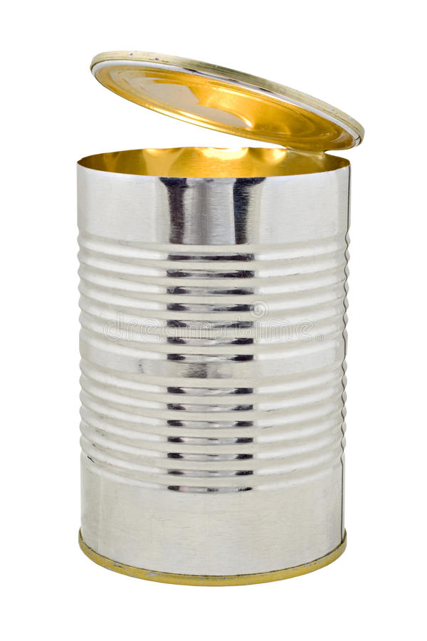 Download Open Tin Can With Light Inside Royalty Free Stock Images - Image: 26777919
