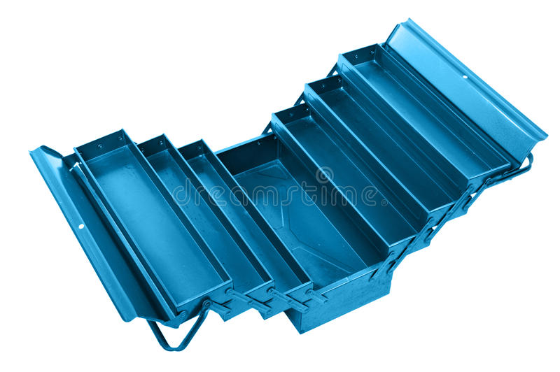 Download Open Tool Box On White Royalty Free Stock Image - Image: 23218356