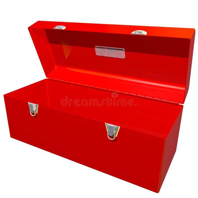 Open Toolbox Royalty Free Stock Images