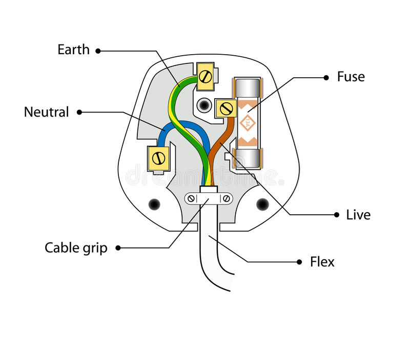 fuse stock illustration  illustration of color  electricity