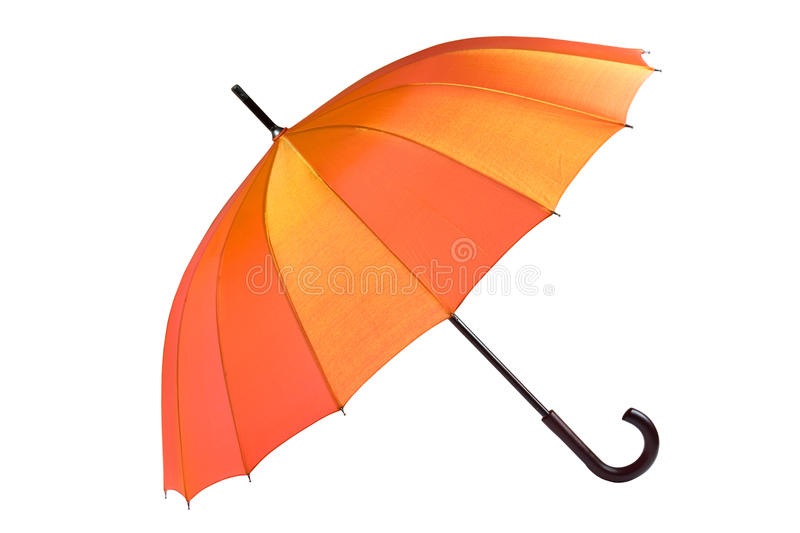 Download Open umbrella isolated stock photo. Image of colours - 11310010