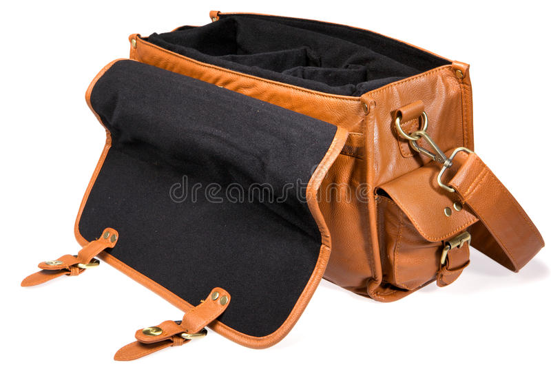 Download Open vintage bag stock image. Image of classic, nobody - 24417289