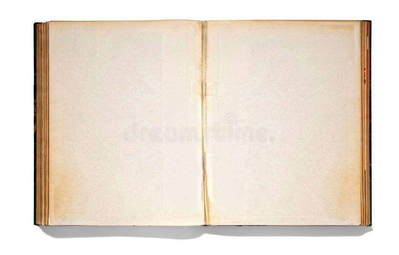 Open vintage book royalty free stock photos