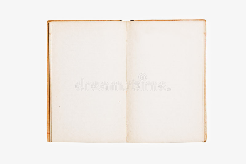 Download Open Vintage Book Royalty Free Stock Photography - Image: 5450297