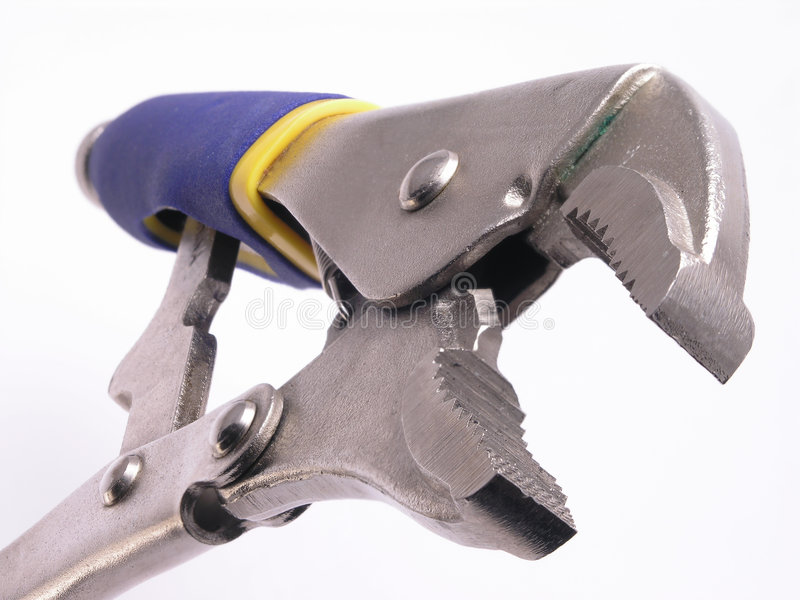 Download Open vise grips stock image. Image of tool, renovate, construction - 1715811
