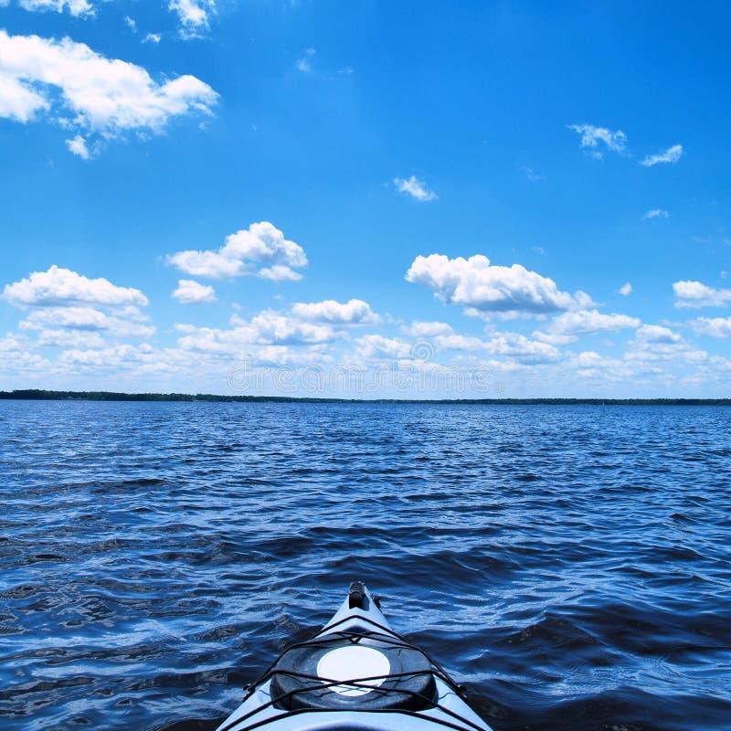 Open water royalty-vrije stock foto's