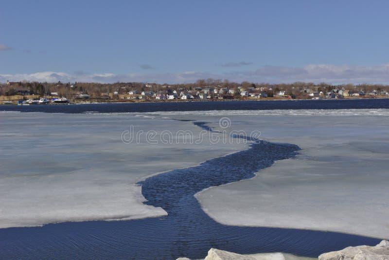 Open water in porto fotografie stock