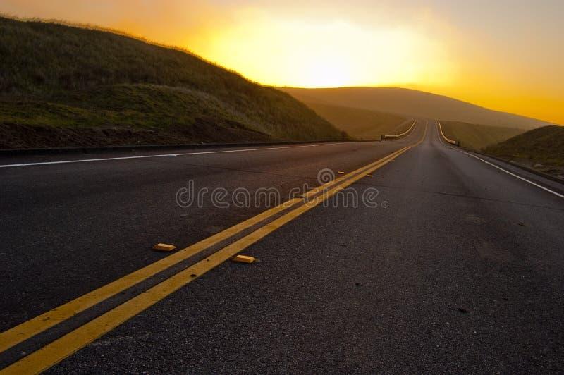 Open Weg stock afbeeldingen