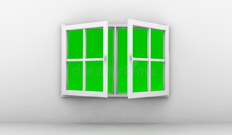 Open Window Royalty Free Stock Image